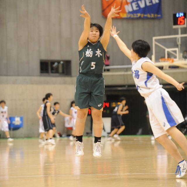 女子・準々決勝 新潟県 ● 37-43 ○ 栃木県