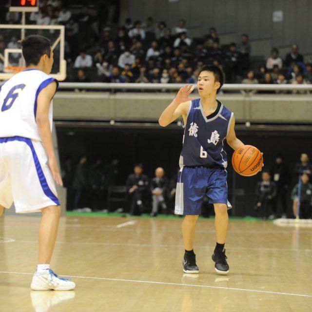 男子・準々決勝 神奈川県 ○ 89-78 ● 徳島県