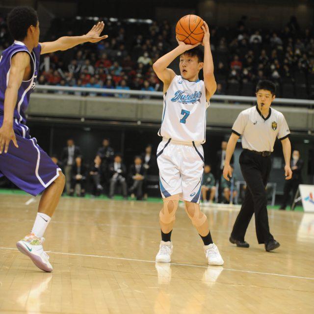 男子・準々決勝 岩手県 ● 43-66 ○ 東京都A