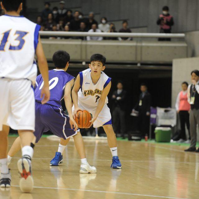 男子・準決勝 神奈川県 ○ 68-55 ● 東京都A