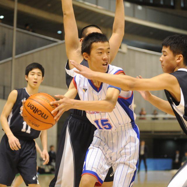 男子・準決勝 長崎県 ○ 56-44 ● 新潟県
