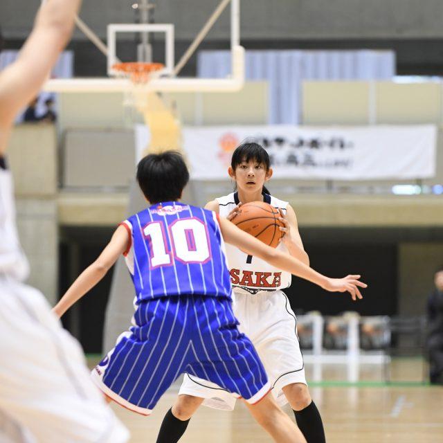 女子・決勝 大阪府 ○ 63-52 ● 長崎県
