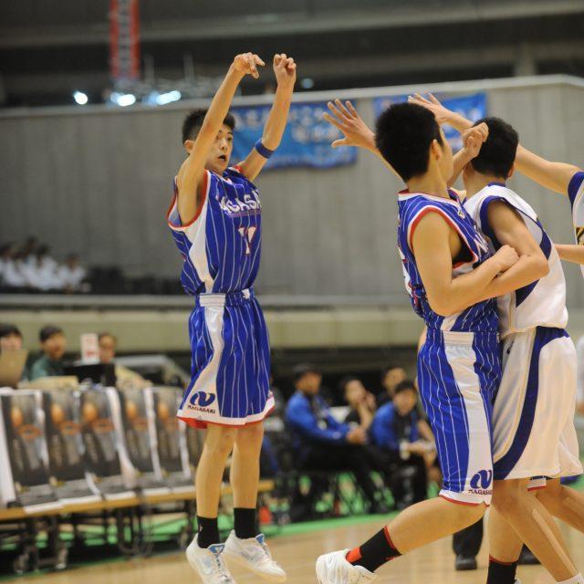 男子・決勝 神奈川県 ○ 59-57 ● 長崎県